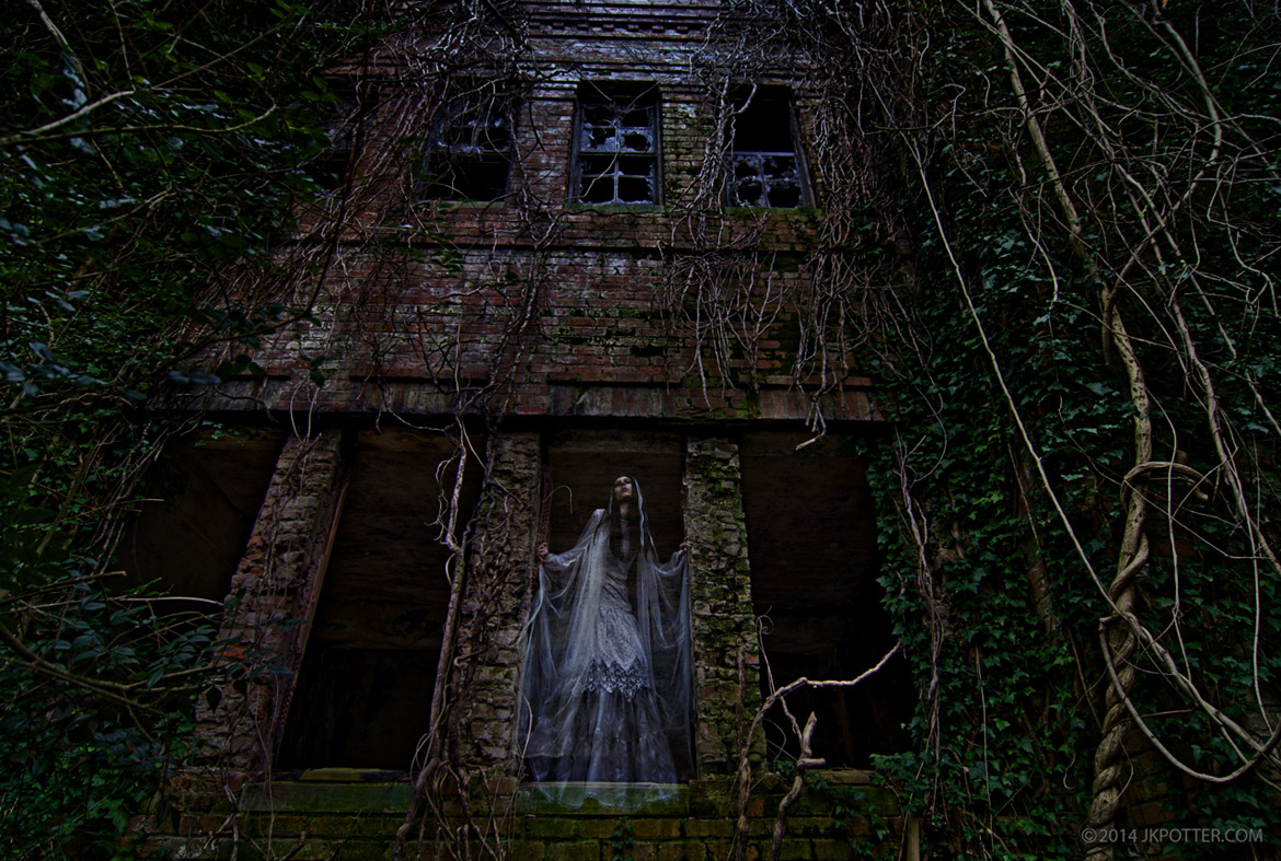 Ghosts,  JK Potter, haunted Lousisiana, haunted Arkansas, haunted Texas, haunted northwest, haunted New England, Horror, weird, creepy, supernatural, strange, bizarre, grotesque, paranormal, ruins