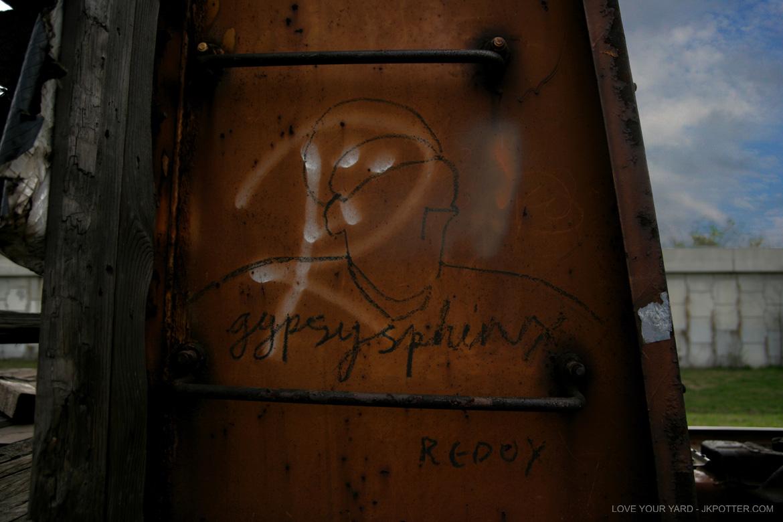 gypsy sphinx, colossus of roads, tags, graffiti, boxcar, train, boxcar tags, railroad graffiti, freight train graffiti, rail art, rail graffiti, boxcar, freight, moniker