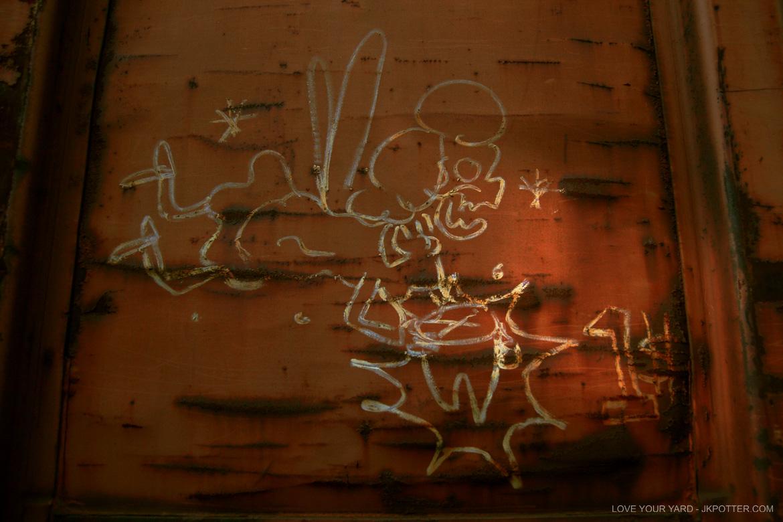 tags, graffiti, boxcar, train, boxcar tags, railroad graffiti, freight train graffiti, rail art, rail graffiti, boxcar, freight, moniker, tooth fairy