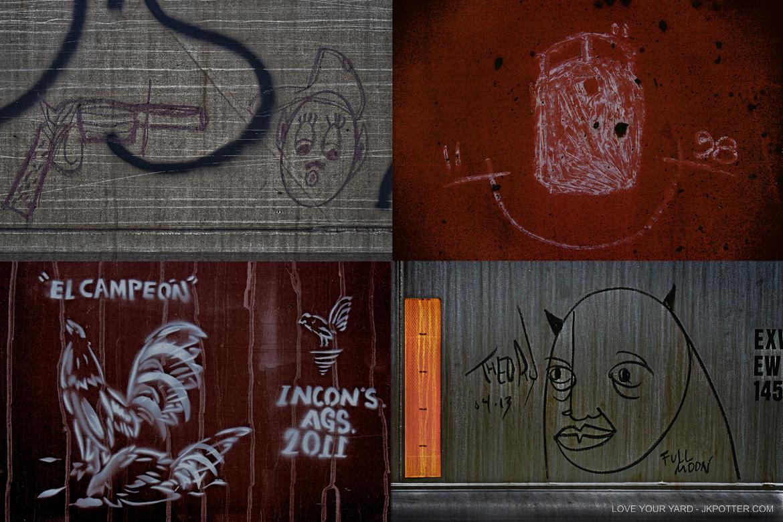 theory, tags, graffiti, boxcar, train, boxcar tags, railroad graffiti, freight train graffiti, rail art, rail graffiti, boxcar, freight, moniker