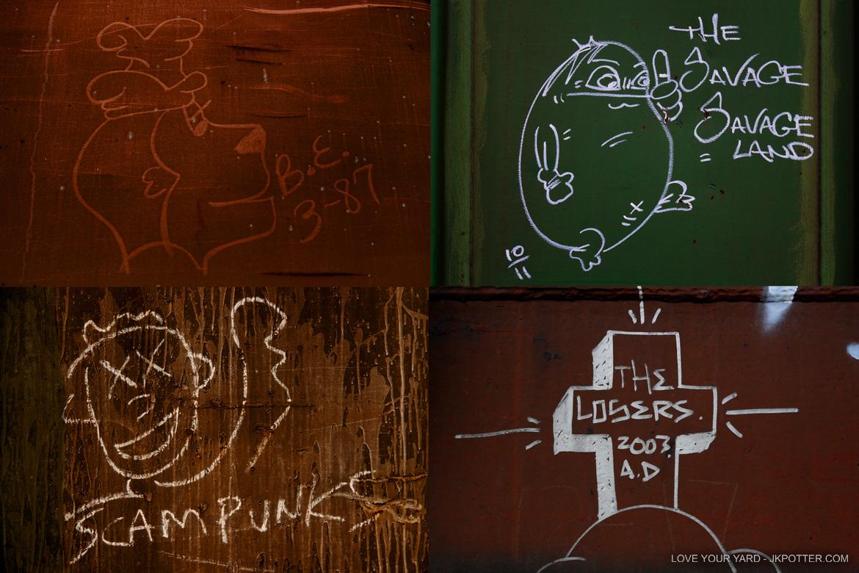 the savage savage land, tags, graffiti, boxcar, train, boxcar tags, railroad graffiti, freight train graffiti, rail art, rail graffiti, boxcar, freight, moniker